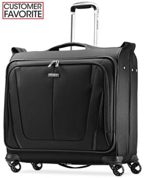 Closeout! 60% Off Samsonite Silhouette Sphere 2 Deluxe Voyager Spinner Garment Bag