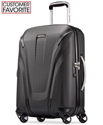 "Samsonite Silhouette Sphere 2 Hardside 22"" Carry-On Spinner Suitcase, Also in Ruby Red, a Macy's Exclusive Color"