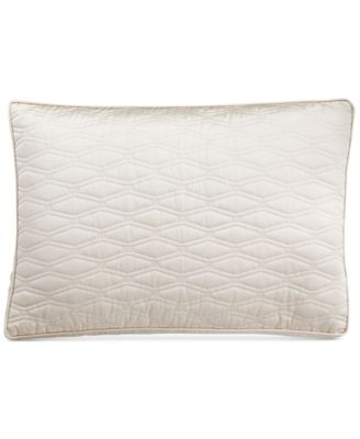Hotel Collection Woven Texture Quilted King Sham