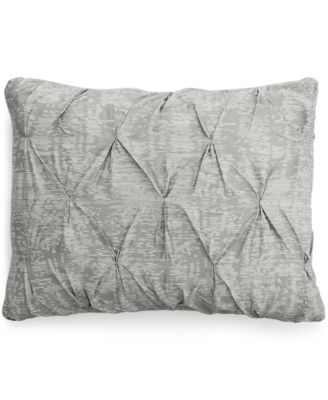 Bar III Diamond Pleat King Sham