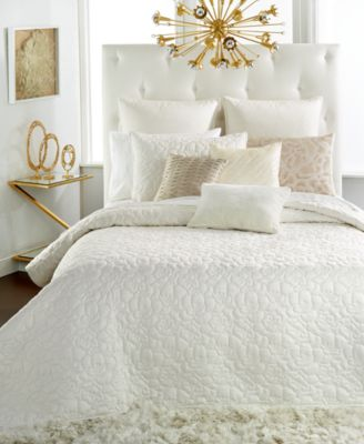 INC International Concepts Delphine King Coverlet