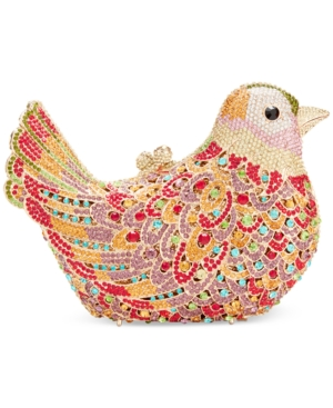 Sasha Jeweled Bird Minaudiere