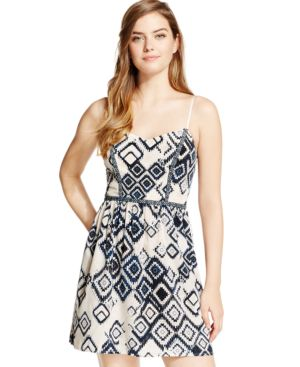 Trixxi Juniors' Printed Tank Dress