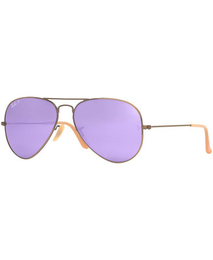 Ray-Ban - Sunglasses, RAY-BAN RB3025 58 ORIGINAL AVIATOR