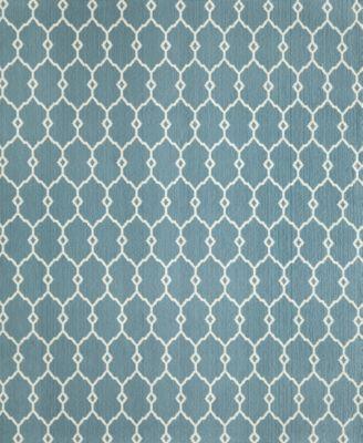 "Momeni Breezeway Pintano Blue 3'11"" x 5'7"" Area Rug"