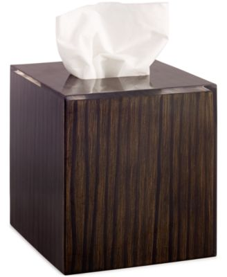 Hotel Collection, Wood Veneer Tissue Cover, Only at Macy's
