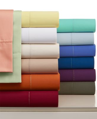 Charter Club Damask Solid 500 Thread Count California King Sheet Set