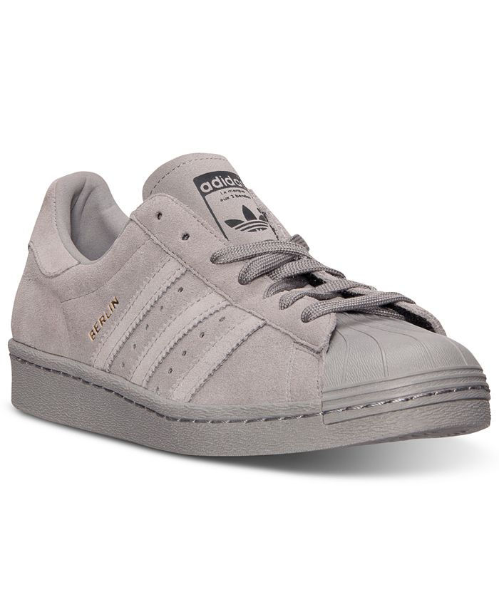adidas - Men's Superstar City Berlin Casual Sneakers from Finish Line