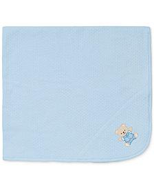 Little Me Baby Boys Cute Bear Blanket