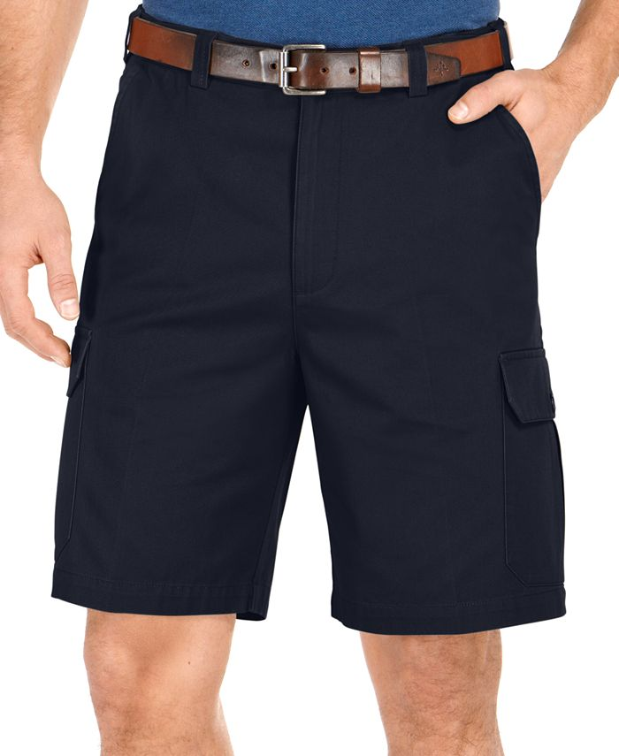 Geoffrey Beene - Big and Tall Solid Cargo Shorts