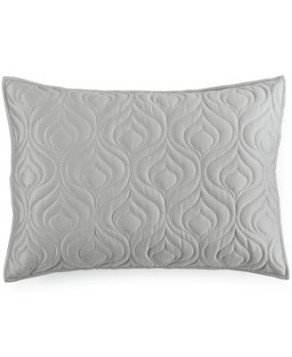 INC International Concepts Rizzoli Midnight Quilted Standard Sham, Only at Macy's