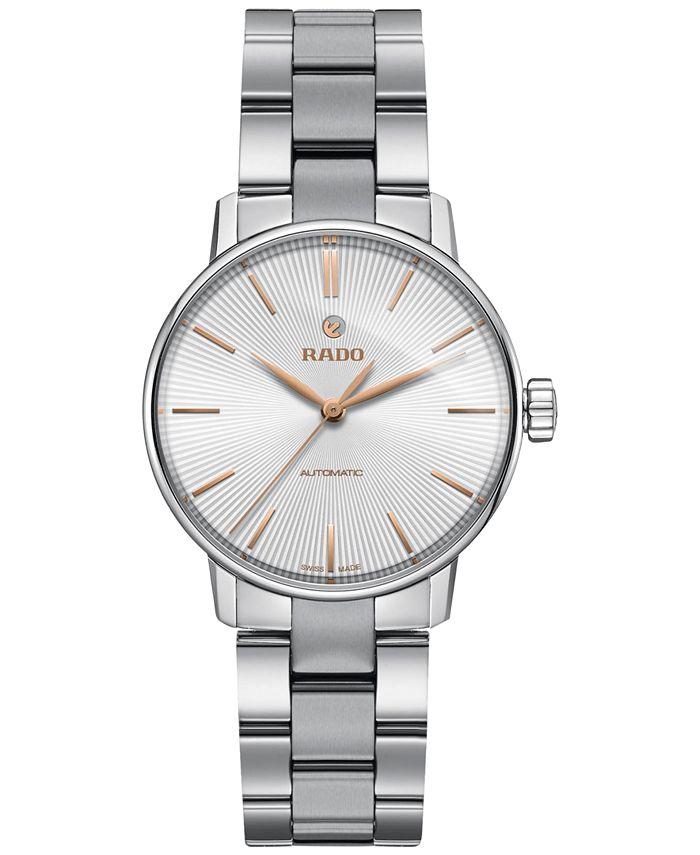 Rado - Women's Swiss Automatic Coupole Classic Stainless Steel Bracelet Watch 32mm R22862023