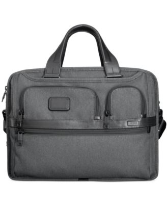 Tumi Alpha Expandable Organizer Computer Brief