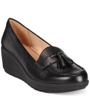 Easy Spirit Coria Platform Wedge Loafers Women's Shoes