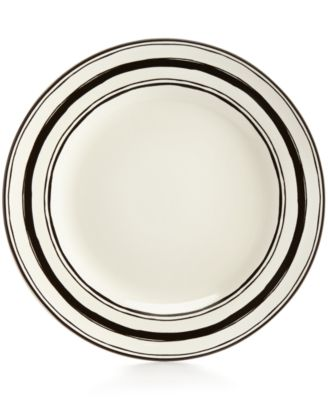 Lenox Around The Table Collection Stoneware Stripe Dinner Plate