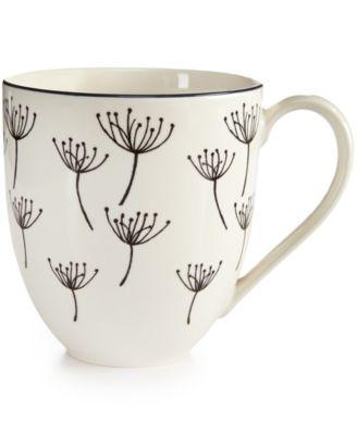 Lenox Around The Table Collection Stoneware Wish Mug