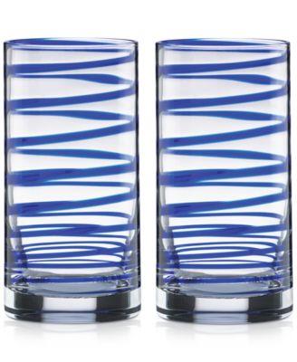 Charlotte Street Highball Glasses, Set of 2