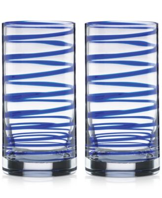 kate spade new york Charlotte Street Highball Glasses, Set of 2