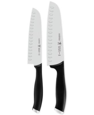 J.A. Henckels International Silvercap 2-Pc. Asian Knife Set