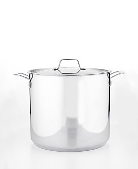 Martha Stewart Collection Stainless Steel Stockpot 16 Qt Cookware