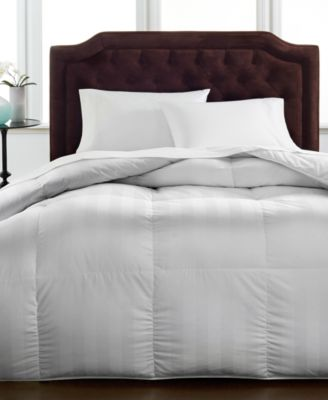 Hotel Collection Medium Weight Siberian White Down King Comforter, Hypoallergenic UltraClean Down, Only at Macy's