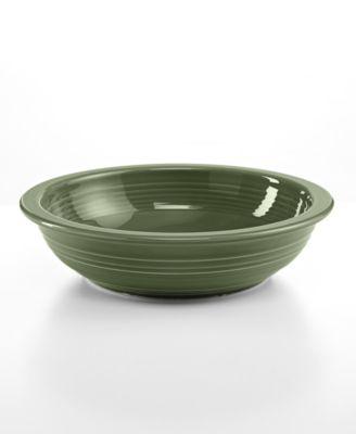Fiesta Sage Individual Pasta Bowl