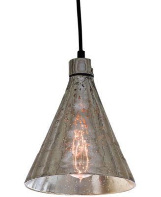 Regina Andrew Antique Mercury Glass Beaker Pendant Light