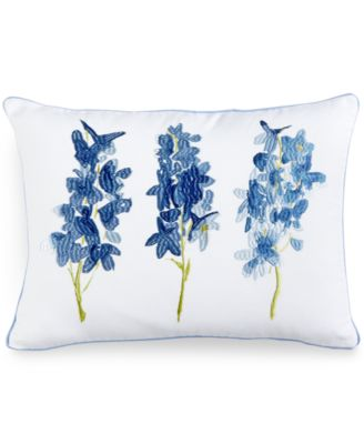 "bluebellgray Skye 12"" x 16"" Embroidered Decorative Pillow"