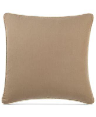 """Sure Fit Cotton Canvas 18"""" x 18"""" Decorative Pillow"""