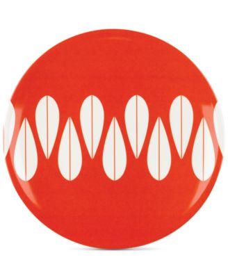 Dansk The Burbs Collection Melamine Marigold Salad Plate