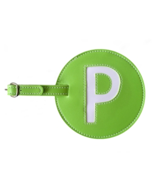 Initial Luggage Tag P