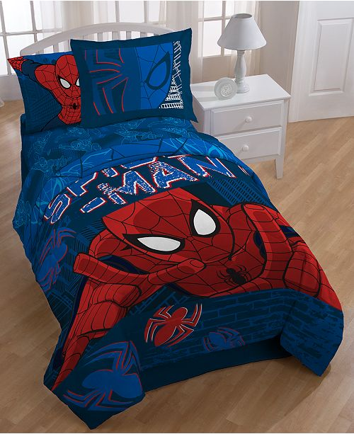 Jay Franco Spider Man Graphic Twin/Full Comforter Set & Reviews