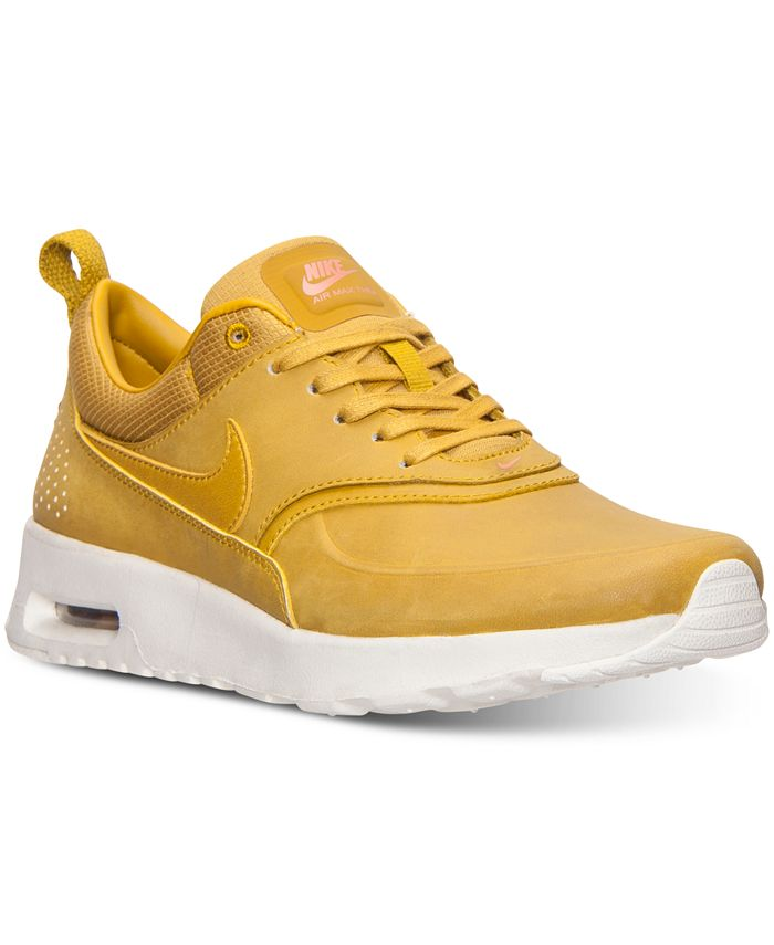Nike - Women's Air Max Thea Premium Running Sneakers from Finish Line
