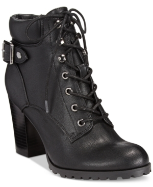 Style & co. Caitlin Lace-Up Booties, Only at Macy's Women's Shoes