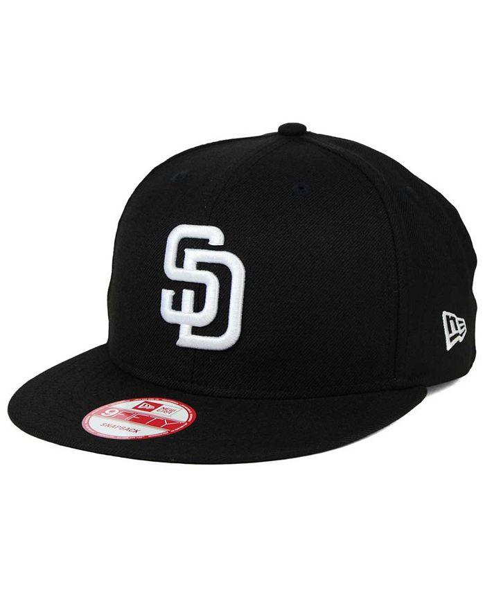 New Era - San Diego Padres B-Dub 9FIFTY Snapback Cap