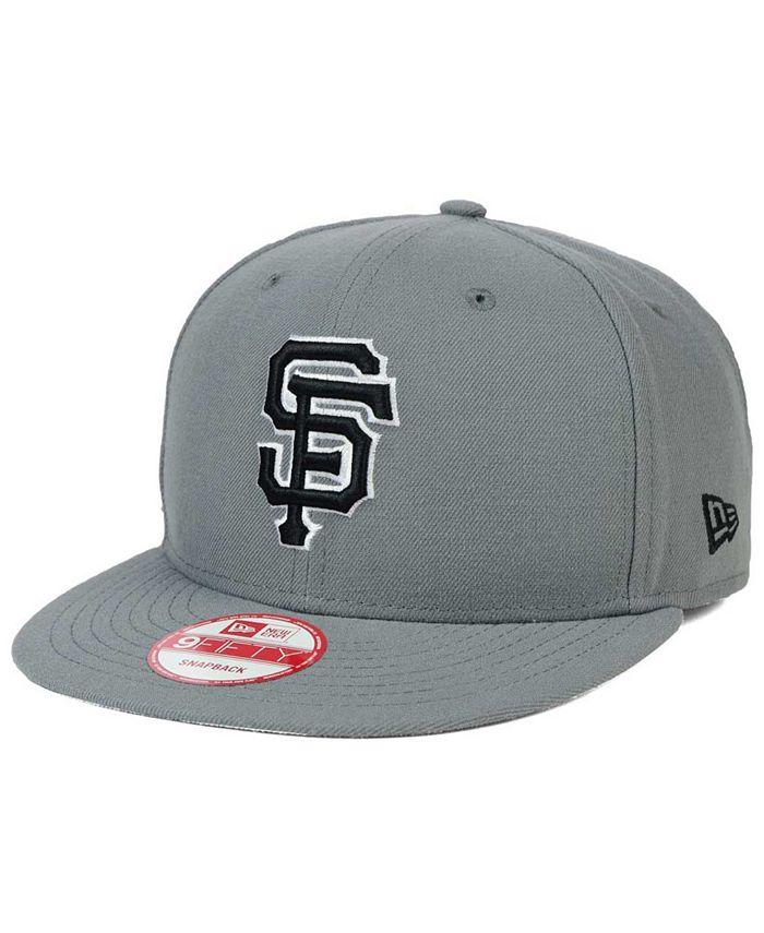 New Era - San Francisco Giants Gray Black White 9FIFTY Snapback Cap