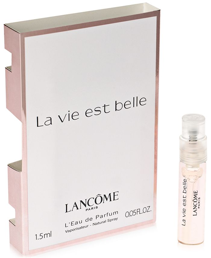 Lancôme - Receive a FREE La vie est belle Sample with any fragrance purchase