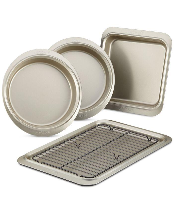 Anolon - Bakeware Nonstick 5-Pc. Bakeware Set