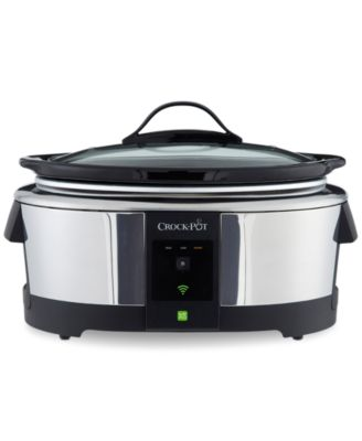 Crock-Pot® SCCPWM600-POP 6-Qt. Smart Slow Cooker with WeMo® Technology