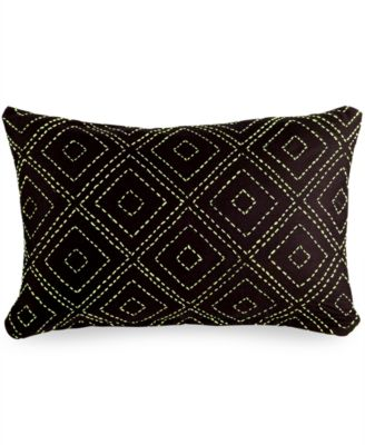 Gifts That Give Hope Kantha Chevron Pillow