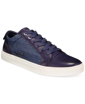 Guess Torence Low-Top Canvas Sneakers Men's Shoes