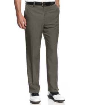 Greg Norman for Tasso Elba 5 Iron Slim-Fit Golf Pants $14.99 AT vintagedancer.com