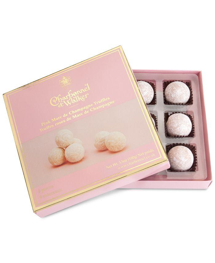 Charbonnel et Walker - Pink Marc de Champagne Truffle Gift Box