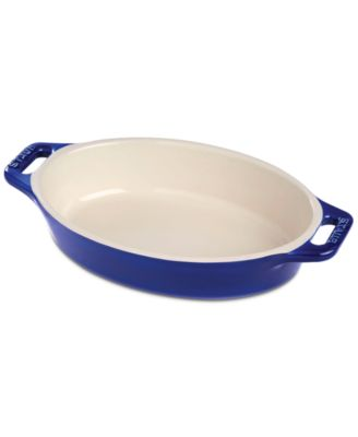 "Staub Ceramic 14.5"" Oval Baking Dish"