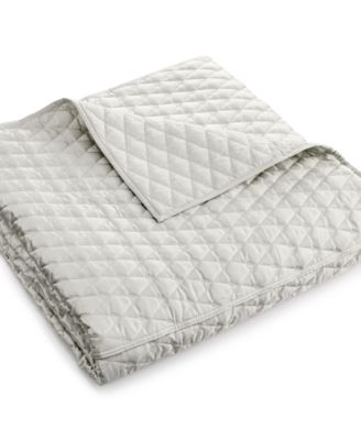 Hotel Collection Keystone Full/Queen Coverlet, Only at Macy's
