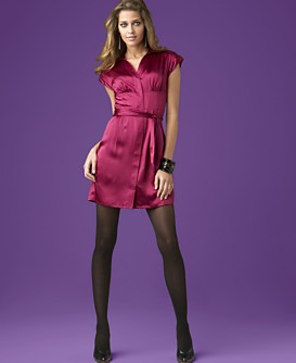 Macy*s -   Women's - 								INC International Concepts® Silk Shirtdress from macys.com