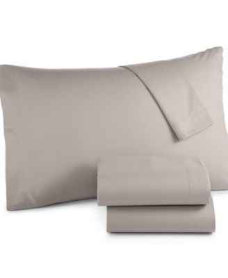 Solid Microfiber Queen Sheet Set