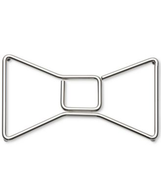 kate spade new york all in good taste Stainless Steel Bow Trivet, Only at Macy's