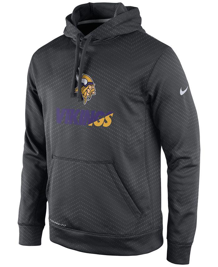 Nike - Men's Minnesota Vikings Sideline KO Fleece Hoodie