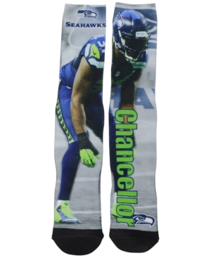 For Bare Feet Kam Chancellor Seattle Seahawks Drive Player Jersey Crew Socks